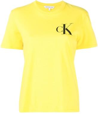 Calvin Klein Jeans logo crew-neck T-shirt