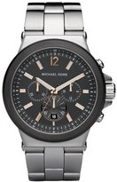 Michael Kors Men's MK8151 Silver Stainless-Steel Quartz Watch with Dial