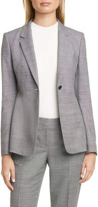 BOSS Jalaia Bird's Eye Suit Jacket