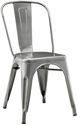 Hewson Stackable Metal Cafe Bistro Chair