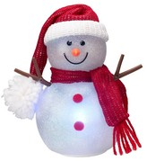 Philips USB Lit Snowman in Red Hat