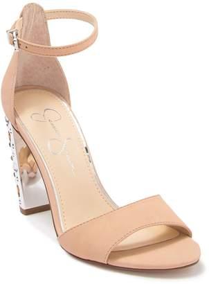 Jessica Simpson Embellished Block Heel Sandal