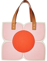 Orla Kiely Square Flower Applique Handbag