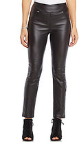 Westbound the PARK AVE fit Skinny Leg Faux-Leather Pant