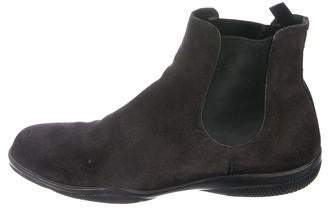 4c382e1b0df Sport Suede Round-Toe Chelsea Boots
