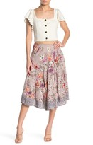 Angie Printed Floral Skirt
