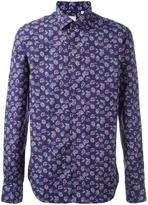 Xacus abstract print shirt