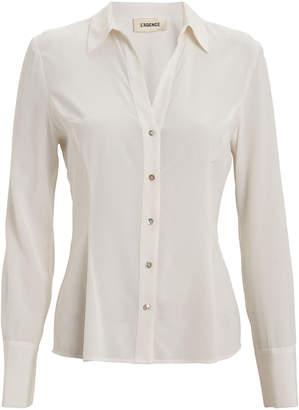 L'Agence Priscilla Button Down Shirt