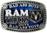 AV8America Bad Ass Boys Belt Buckle, Dodge Ram Trucks