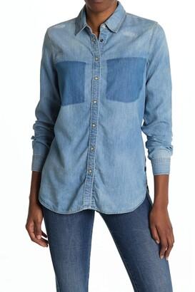G Star Remi Deconstructed Chest Pocket Boyfriend Shirt
