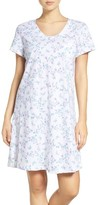 Carole Hochman Women's Print Cotton Sleep Shirt