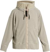ADIDAS DAY ONE Waffle-knit hood track jacket