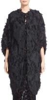 Zero Maria Cornejo Women's 'Koya' Fringe Jacquard Coat