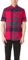 Gitman Brothers Short Sleeve Big Madras Check Shirt