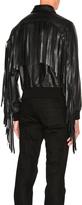 Givenchy Fringe Aviator Jacket