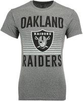 Junk Food Clothing Men's Oakland Raiders Block Shutter T-Shirt