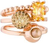 Eddie Borgo Collage Ring