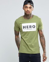 Hero's Heroine Heros Heroine T-Shirt With Large Logo