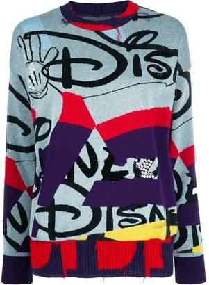 Iceberg Disney sequin-embellished jumper
