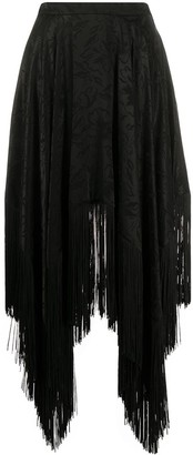 MSGM High-Low Hem Skirt