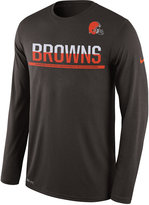Nike Men's Cleveland Browns Team Practice Long Sleeve T-Shirt