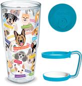 Tervis Flat Art Dog Breeds 24-Oz. Tumbler & Handle Set
