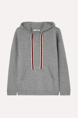 Chinti and Parker Ringmaster Cashmere And Wool-blend Hoodie - Gray