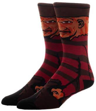 Bioworld Men's Socks - Nightmare on Elm St Freddy 360 Socks - Men