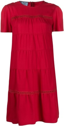 Prada Tiered Short Dress