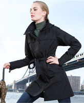 The North Face Raincoat, Stella Grace Hooded Trench Coat