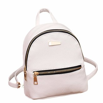 VECDY Backpacks Women Zipper Womens Backpacks Sale 2019 New Mini Backpack Pink Small Backpack Party Travel Bag Ladies Backpacks(One Size