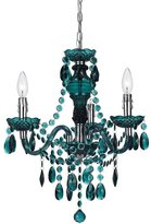 AF Lighting Fulton 3-Light Crystal Chandelier