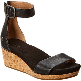 UGG Women's Zoe Ii Leather Wedge