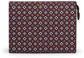 Henri Bendel West 57th Foulard Print Cosmetic Clutch