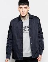 Cheap Monday Coach Overshirt Jacket Shell Nylon - Black