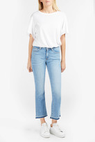 Derek Lam 10 Crosby Mid-Rise Cropped Flare