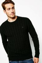 Redmore Cashmere Cable Crew Neck Jumper