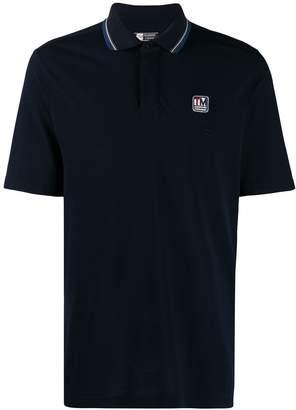 Ermenegildo Zegna contrast-trim polo shirt