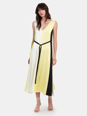 Stine Goya Yara Sleeveless V-Neck Midi Dress