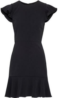 Jay Godfrey Jamison Open-back Ruffled Stretch-crepe Mini Dress
