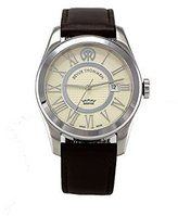 Revue Thommen Men's 103.01.01 Millennium Classic Analog Display Swiss Automatic Brown Watch