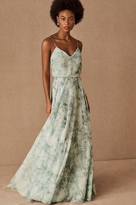Anthropologie Inesse Dress By in Green Size 10