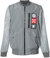 Christopher Raeburn mesh sleeve bomber jacket