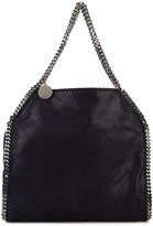 Stella McCartney Black Medium Falabella Tote Bag - women - Polyester/metal - One Size