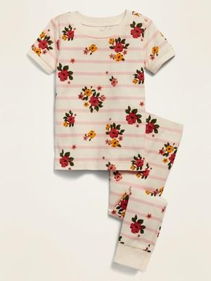 Old Navy Unisex Floral-Print Pajama Set for Toddler & Baby
