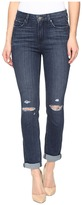 Paige Hoxton Crop Rollup in Lani Destructed