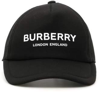 Burberry Logo Trucker Cap