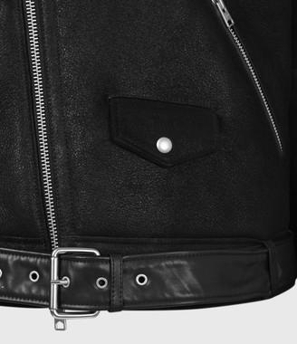 AllSaints Terro Shearling Biker Jacket