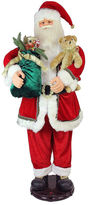 Asstd National Brand 5' Deluxe Traditonal Animated & Musical Dancing Santa Claus