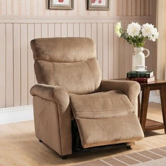 Red Barrel Studio Morrisania Leather Power Recliner